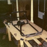 Here It's 1976 - Our Bi-Centenial Year - And Paul Brantner Has The Urba Car Frame Nearly Complete.