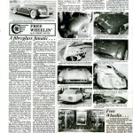 Here's A Recent Article By Perry On The Variety Of Fiberglass Cars Rick And I Are Studying.  He Even Talked A Bit About My Vintage Microphone Collection In This Article!