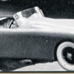 Here's The Small-Scale Model Of The Roadster That Vale Built Before He Tackled The Full Size Mold and Body.