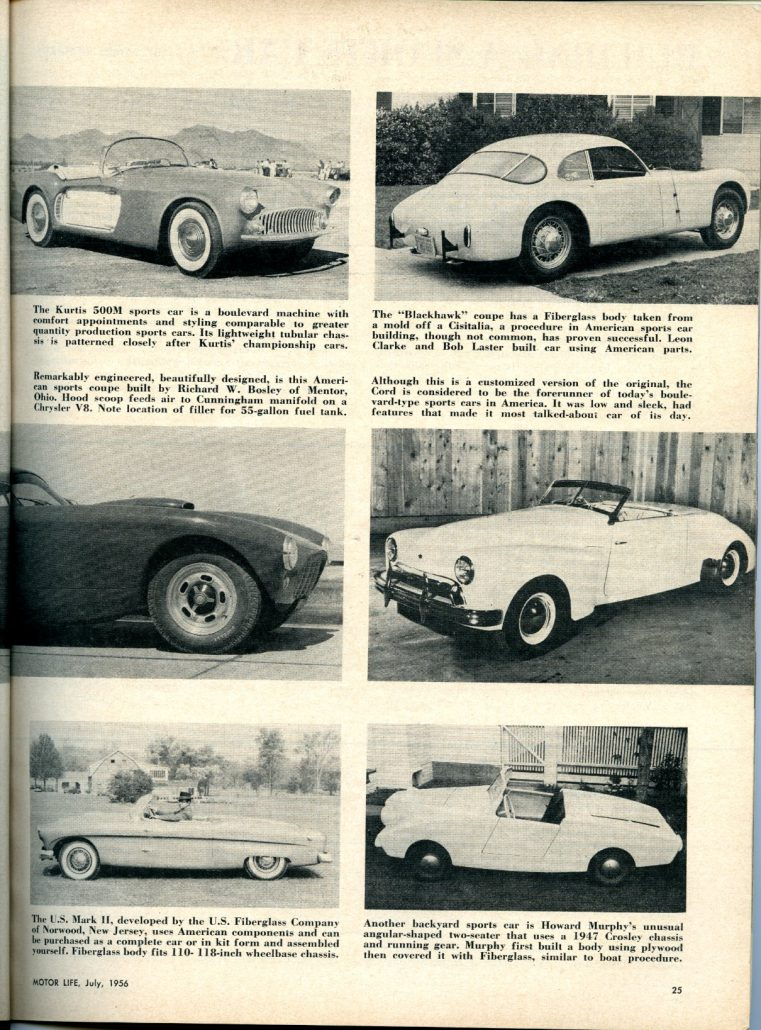 America\'s Boulevard Sports Cars: Jim Potter\'s Thoughts - Motor Life ...