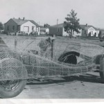 Another Shot at the Start of the Process of Shaping the Design of the Car - The Chicken Wire Had Just Been Started Here.