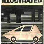 Here's The Cover Of The Plans That You Could Purchase For The Mechanix Illustrated Urba Car.  Cute Design Of Car Is Shown On Front.