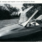 "The Caption Noted Here Was, ""Front lid, canopy, and engine cover are hinged at front."""