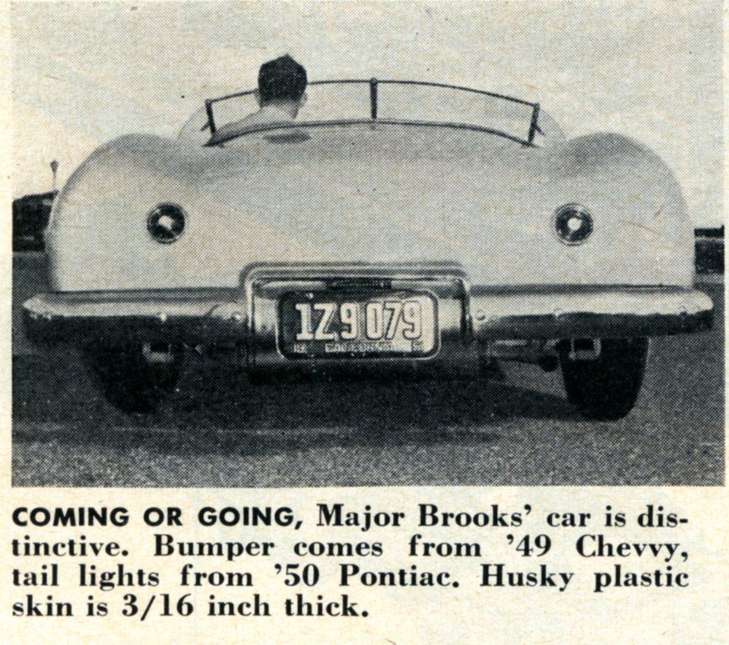 1960s car tail lights