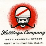 This is One of my Favorite Logos of the 1950's - Here You Can See How Mack Used the Moustache in the Logo as a Way to Emulate the Motorcycle Handlebars He Was Selling at Hellings Company.