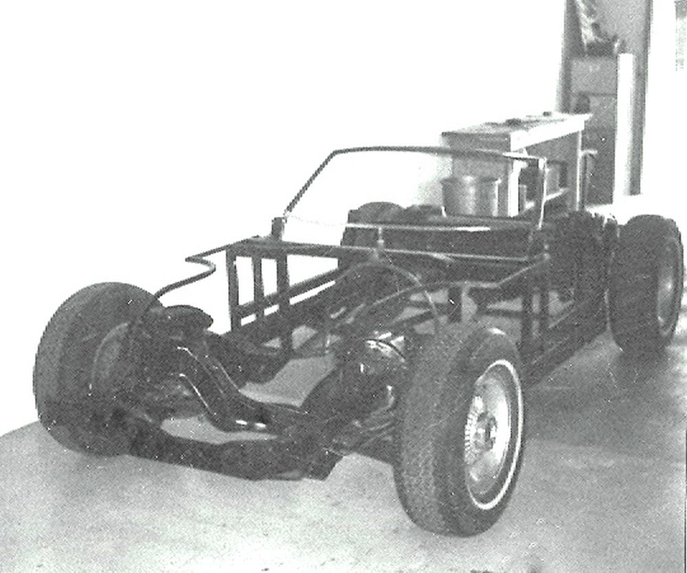 lincoln chassis after modifications