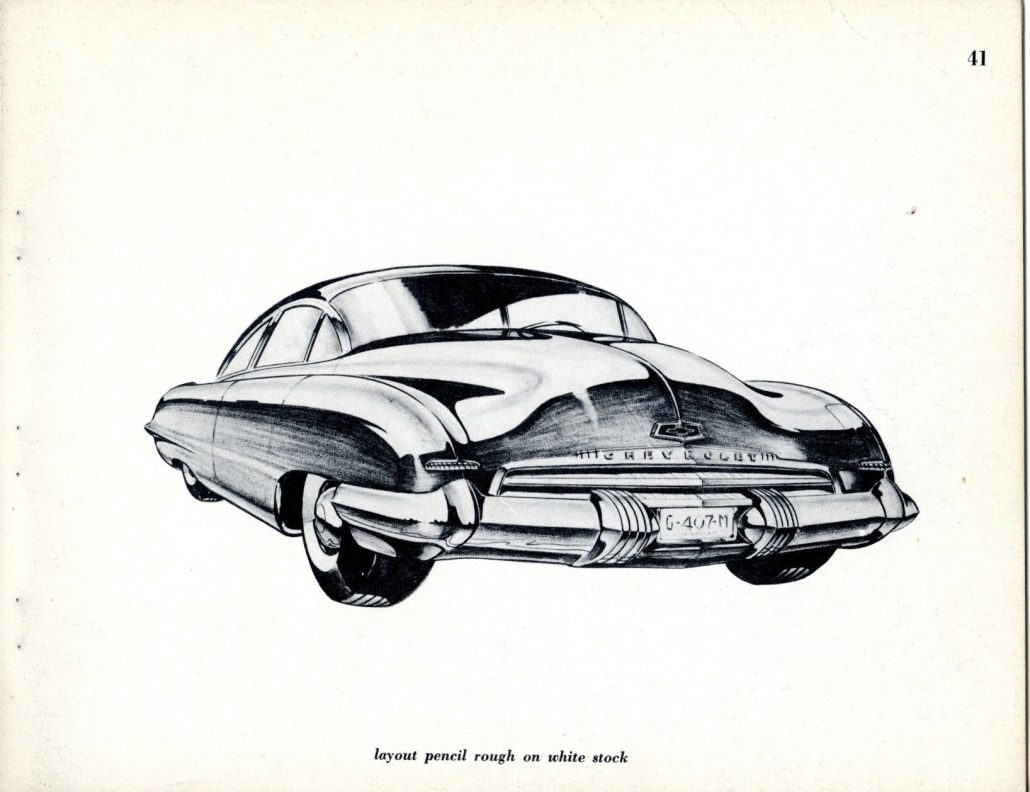 """How To Draw Cars of Tomorrow (1952) – By Henry """"Bob"""" Gurr: Part 3 ..."""