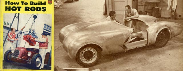 Create Your Own Custom Body U2013 Vince Gardner Shows Us How To Design And Build  Your Own Sport Car In 1952