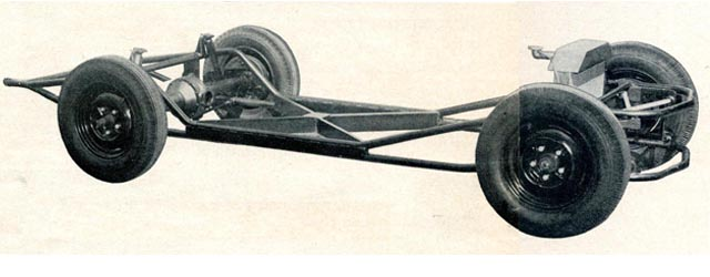 Build Yourself a Kurtis Style Chassis: Hot Rod Magazine, July 1954 ...