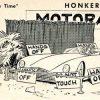 """Fiberglass Funnies"" – Featuring A ""Sorrell"" Sports Car – Car Craft, February 1954"
